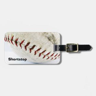 Vintage Baseball or Softball  Stitches Luggage Tag