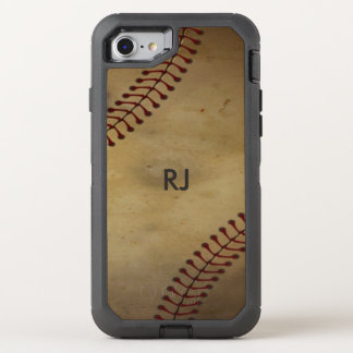 Vintage  Baseball OtterBox Defender iPhone 7 Case