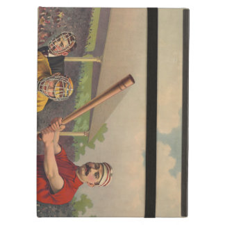 Vintage Baseball Poster iPad Air Cover