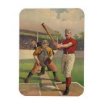 Vintage Baseball Premium Magnet