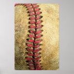 Vintage Baseball Print