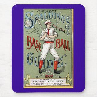 Vintage Baseball Print Mouse Mat