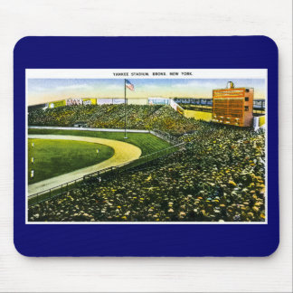 Vintage Baseball Stadium, Bronx, New York Mouse Mat