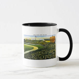 Vintage Baseball Stadium, Bronx, New York Mug