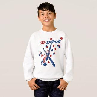 Vintage Baseball Stars and Stripes Sweatshirt