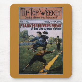 Vintage Baseball, Tip Top Weekly Magazine Cover Mouse Pad