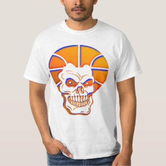 Vintage Basketball Skull T-shirt