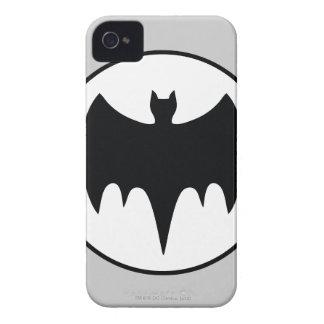 Vintage Bat Symbol iPhone 4 Case-Mate Cases