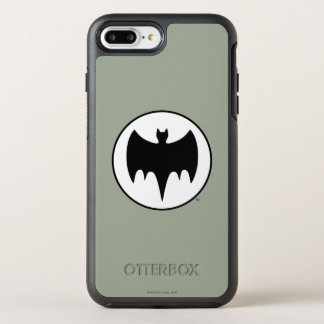 Vintage Bat Symbol OtterBox Symmetry iPhone 8 Plus/7 Plus Case