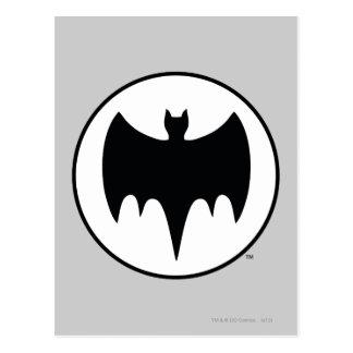 Vintage Bat Symbol Post Cards