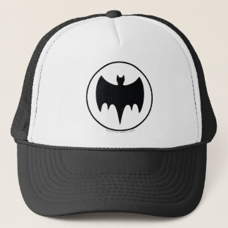 Vintage Bat Symbol Trucker Hat