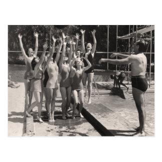 Vintage Bathing Suits Postcard - 1766908-4