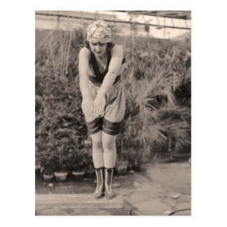 Vintage Bathing Suits Postcard - 1780185-4