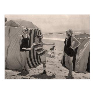 Vintage Bathing Suits Postcard - 1780212-4