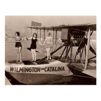 Vintage Bathing Suits Postcard - 1780225-4