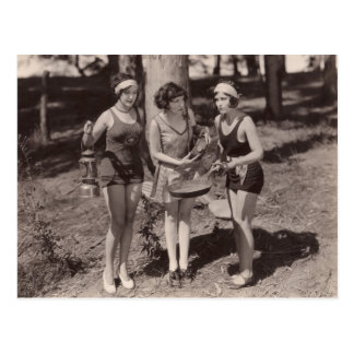 Vintage Bathing Suits Postcard - 1780242-4