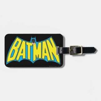 Vintage Batman Logo 2 Luggage Tag