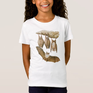 Vintage Bats Illustration, Animal Drawing T-Shirt