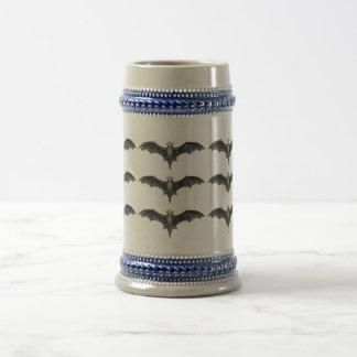 Vintage Bats Traditional German Beer Stein Mug