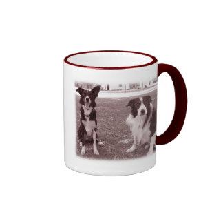 Vintage BC Brothers Ringer Mug