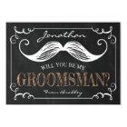 VINTAGE BE MY GROOMSMEN | GROOMSMAN CARD