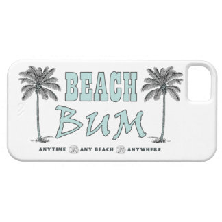 Vintage Beach Bum Anytime ~ Any Beach ~ Anywhere iPhone 5 Case