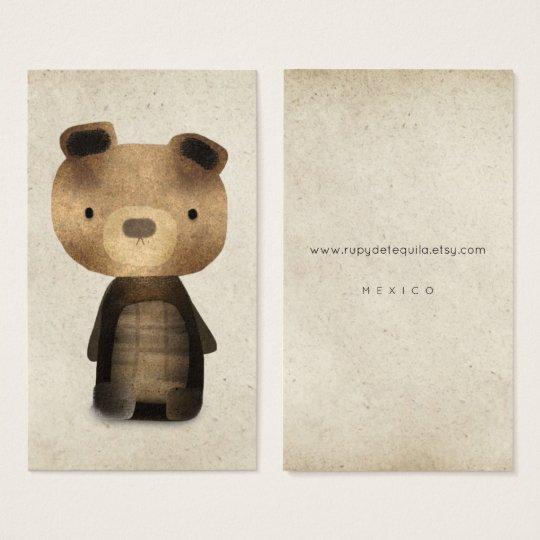 VINTAGE BEAR BUSINESS CARDS