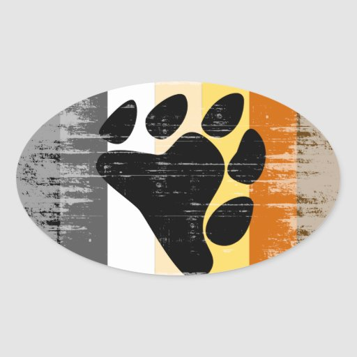 Vintage Bear Pride Stickers