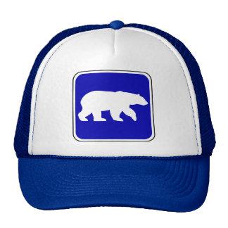 Vintage Bear Sign Mesh Hats