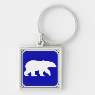 Vintage Bear Sign Key Chains