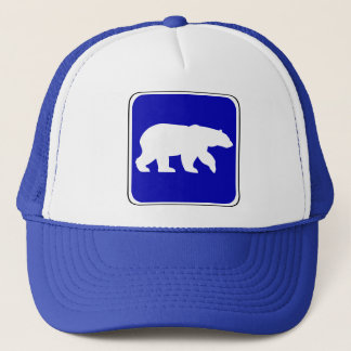 Vintage Bear Sign Trucker Hat
