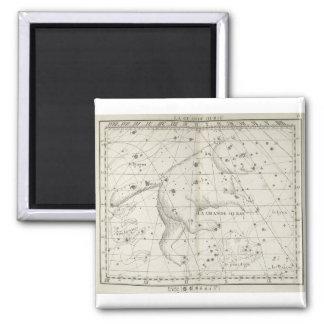 Vintage Bear Star Constellation Refrigerator Magnets