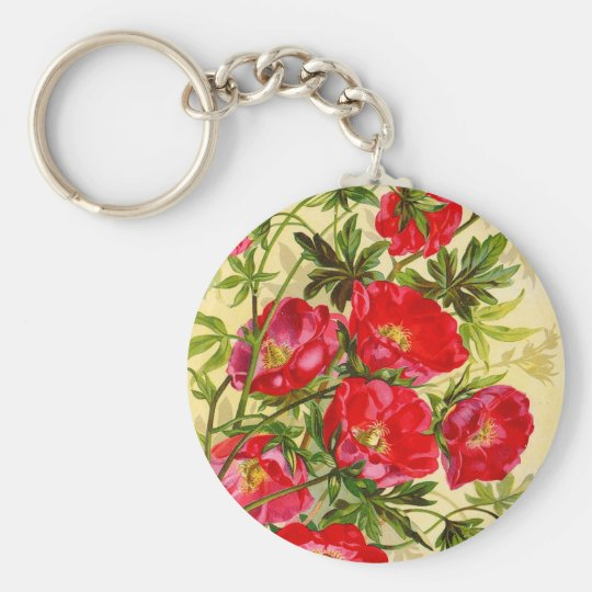 Vintage Beauties Keychain