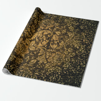 Vintage, beautiful damask wrapping paper