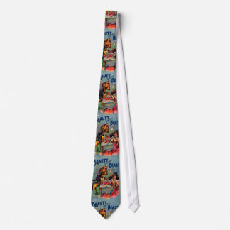 Vintage Beauty and the Beast Tie