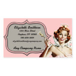 Vintage Beauty Queen Pack Of Standard Business Cards