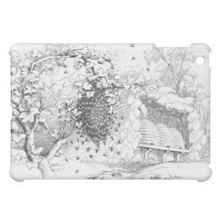 Vintage Bee Hives Cover For The iPad Mini