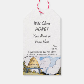 Vintage Beehive Custom Honey Canning Tag