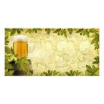 Vintage Beer Photo Card