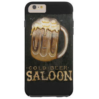 Vintage Beer Sign Tough iPhone 6 Plus Case