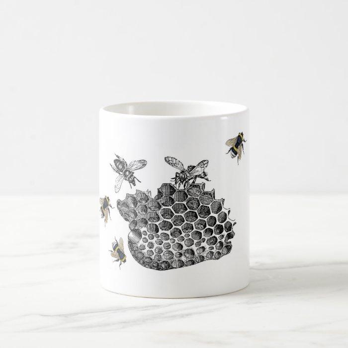 Vintage Bees Coffee Mug
