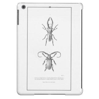 Vintage beetle illustration case iPad air cases