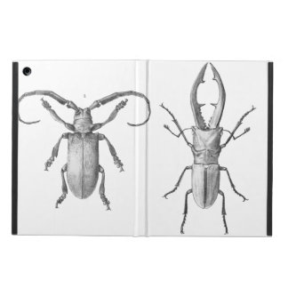 Vintage beetle illustration case cover for iPad air