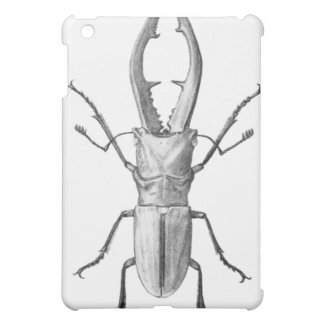Vintage beetle illustration case cover for the iPad mini