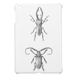 Vintage beetle illustration case iPad mini covers
