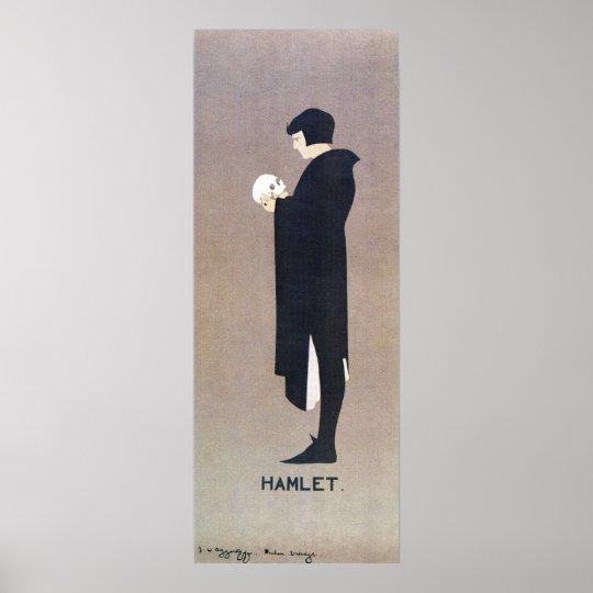 Vintage Beggarstaffs Hamlet vertical banner Poster ...