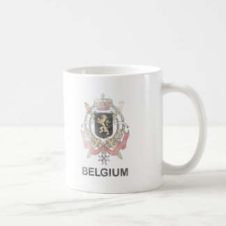 Vintage Belgium Coffee Mug