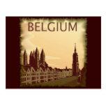 Vintage Belgium Postcard