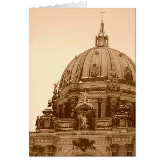 Vintage Berlin Card