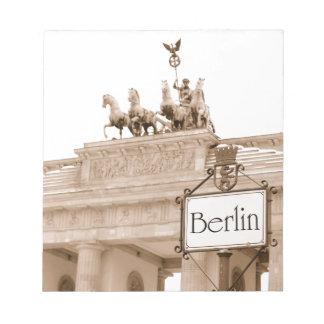 Vintage Berlin design Notepad